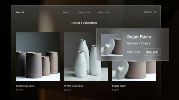 layout de site, modelos de site, zyro